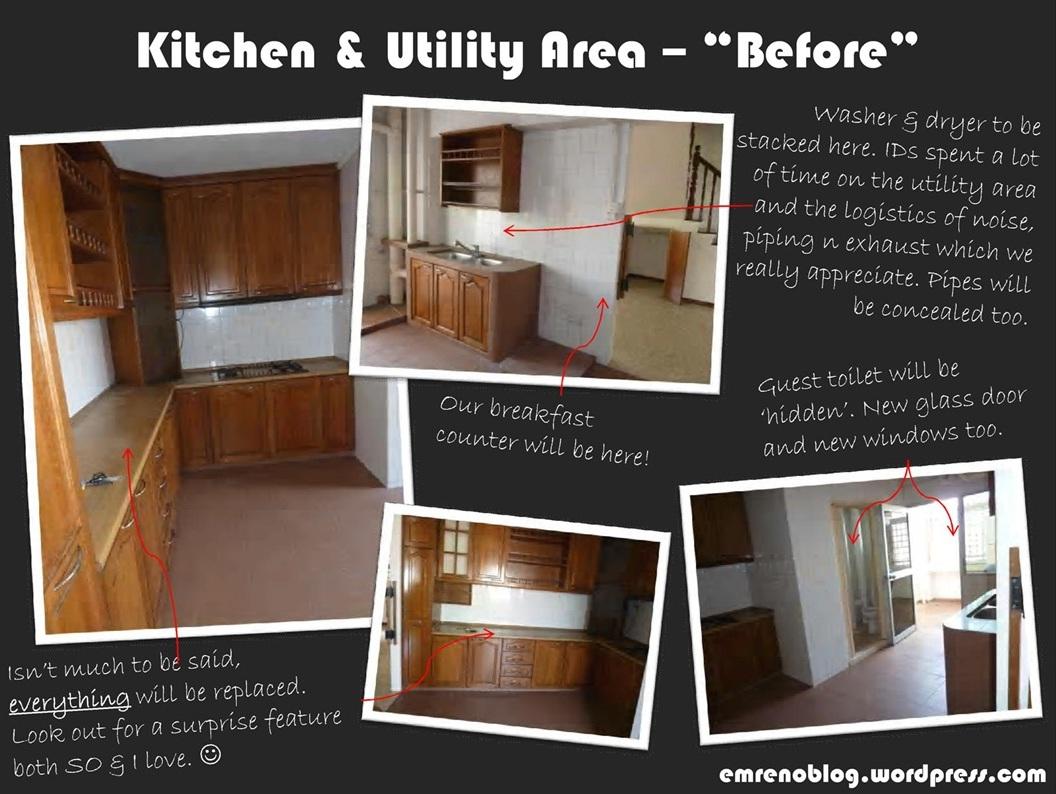 Wood Kitchen Utility Cabinets