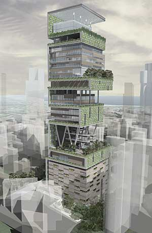 Antilia 06 - concept drawing
