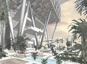 Antilia 08 - gardens concept