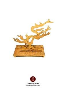 GOD Bonsai Wooden Jewellery Stand