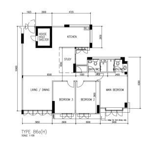 2000s 5 room 110 sqm