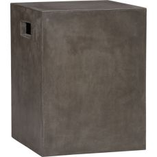 Cement Side Grey Table Stool