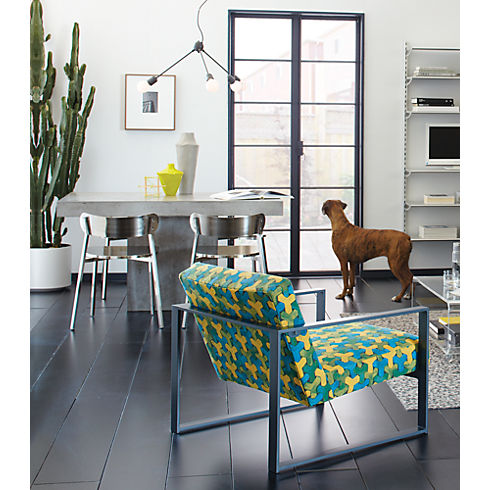 Fuze Dining Table Our EM Renovation Experience - Cb2 concrete dining table
