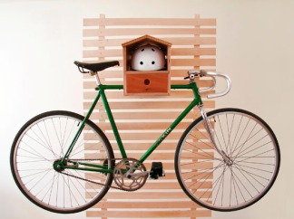 Bike Rack - Birdhouse 1