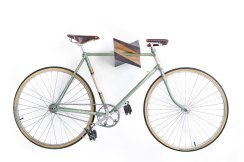 Bike Rack - Oak Wood Bike Hanger %22Iceberg%22 1