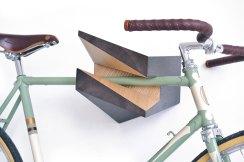 Bike Rack - Oak Wood Bike Hanger %22Iceberg%22 2