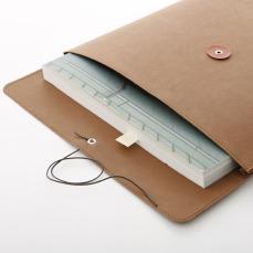 Muji Denim A4 Tie Envelope