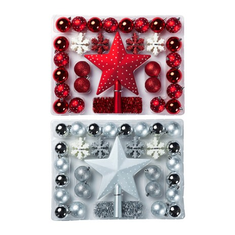 IKEA julmys-58-piece-ornament-set