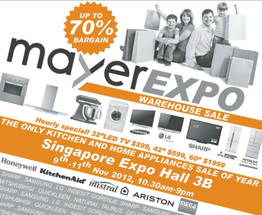 Mayer Expo Sale Nov 2012