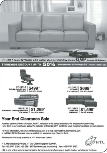 HTL Sale Nov 2012