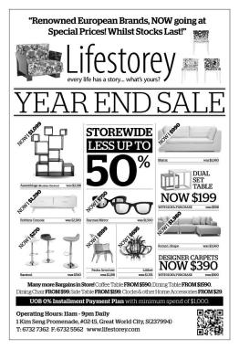 Lifestorey 2012 year end