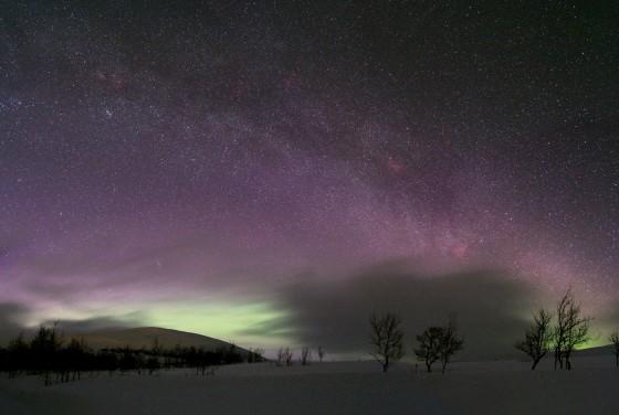 Sweden night sky
